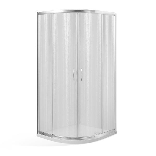 Well ARIEL NIKE 80 W49620 Čtvrtkruhový sprchový kout s mramorovou vaničkou