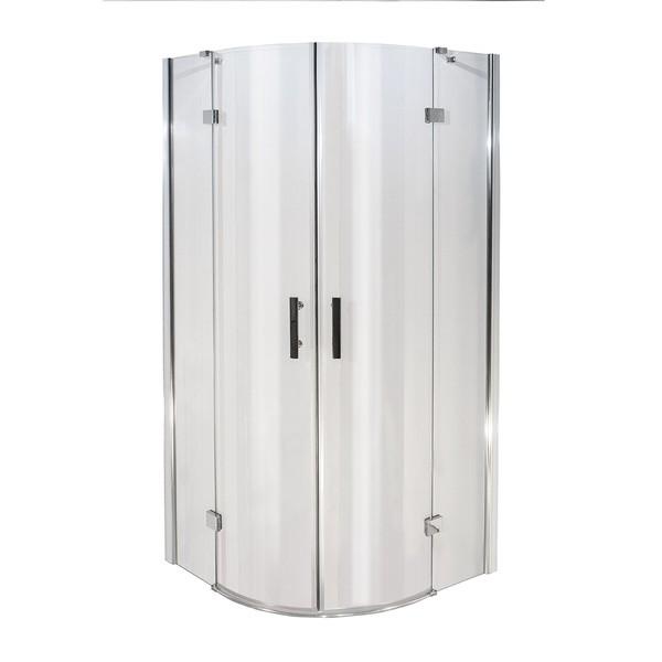 Well CAPRIS 90 W50883 Luxusní čtvrtkruhová sprchová zástěna