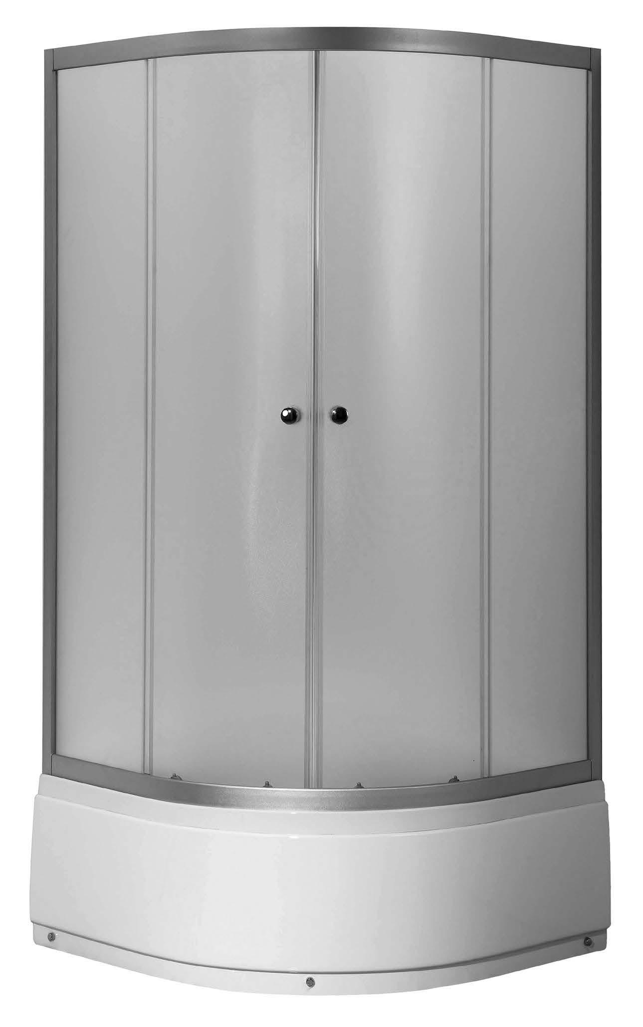Well VIESTE HIGH 80 Woven W52549 sprchový kout s vysokou vaničkou