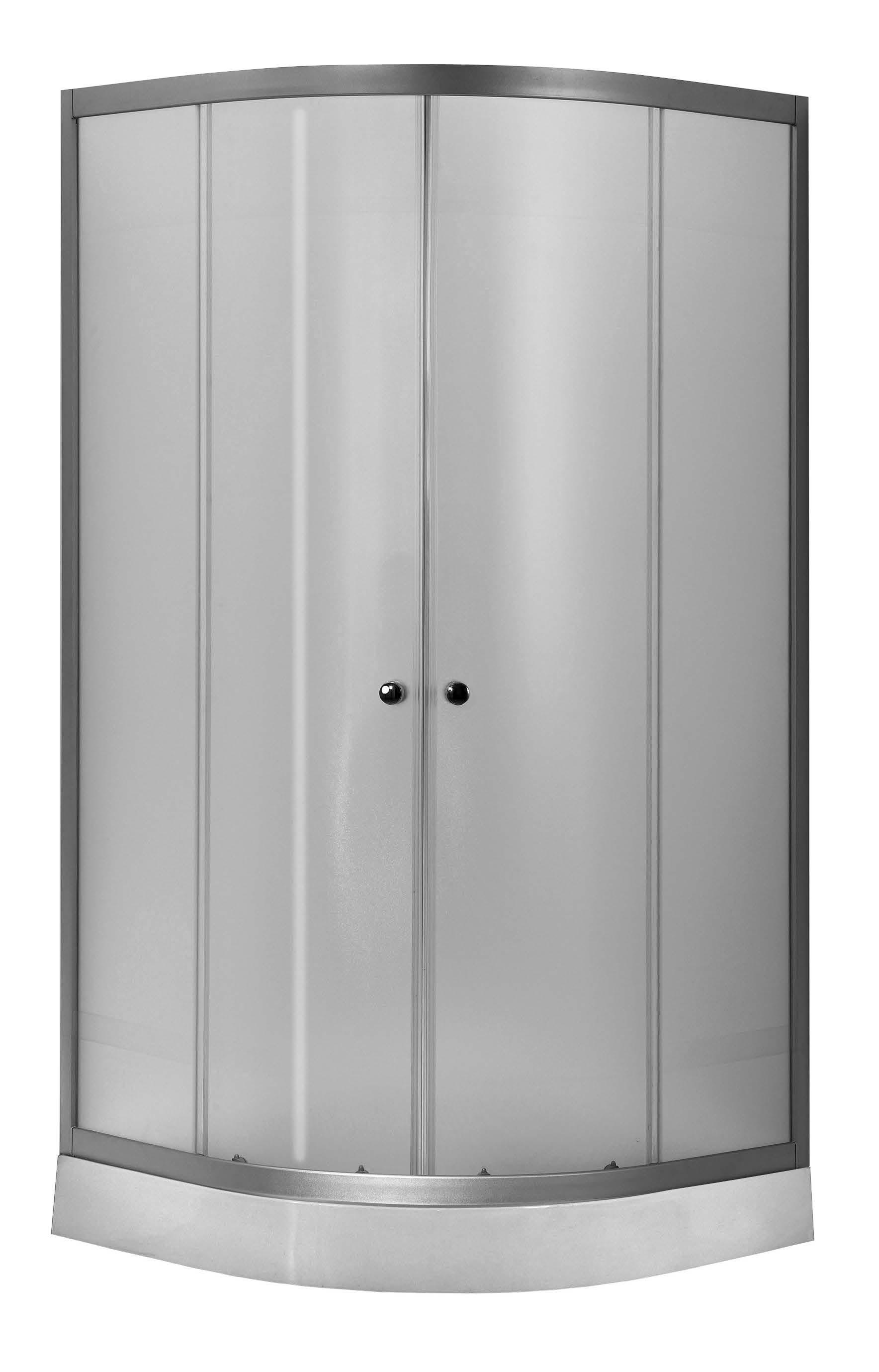 Well VIESTE 80 Woven W52548 sprchový kout s nízkou vaničkou