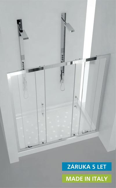 MITHRA 160 Hopa Sprchové dveře čtyřdílné, posuvné
