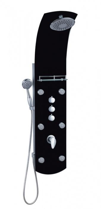 Well BARCA LUX BLACK W49611 Masážní panel