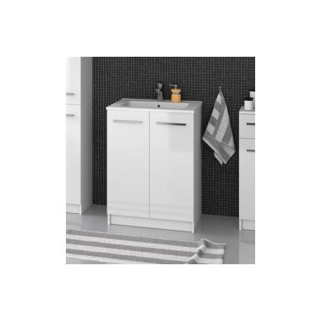 F-STANDARD-U60 Olsen-spa Skříňka s umyvadlem 60 cm, sokl, bílá