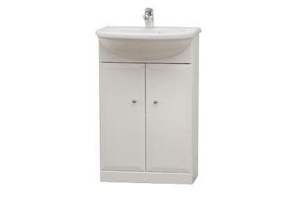 Well BEATA 50 W50819 Koupelnová skříňka s umyvadlem, sokl