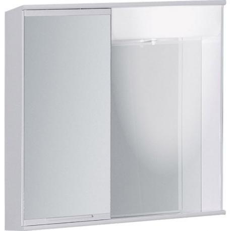 """LUMIX I 55 x 55 levá Olsen-Spa zrcadlová skříňka """"galerka"""" kovová"""
